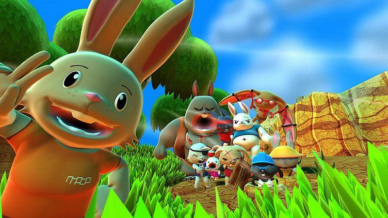 Blast 'Em Bunnies se estrena el 8 marzo en PS4 y PS Vita