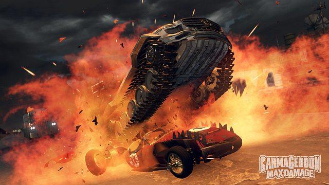 Se anuncia la próxima llegada de Carmageddon: Max Damage a PS4
