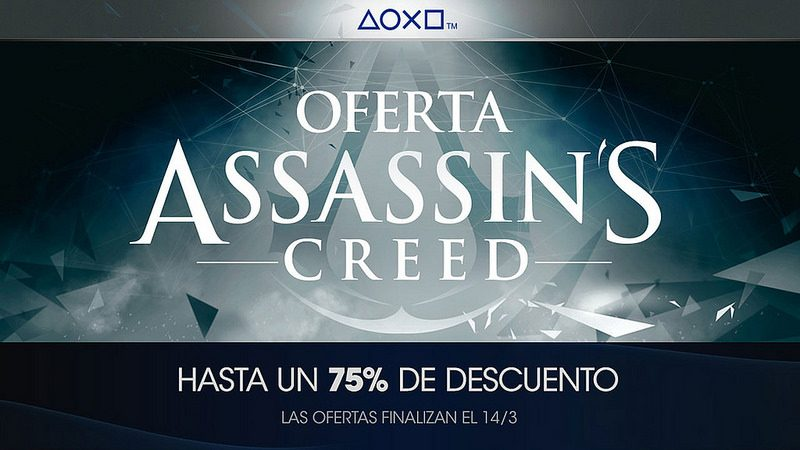 Oferta de  Assassin's Creed para LATAM