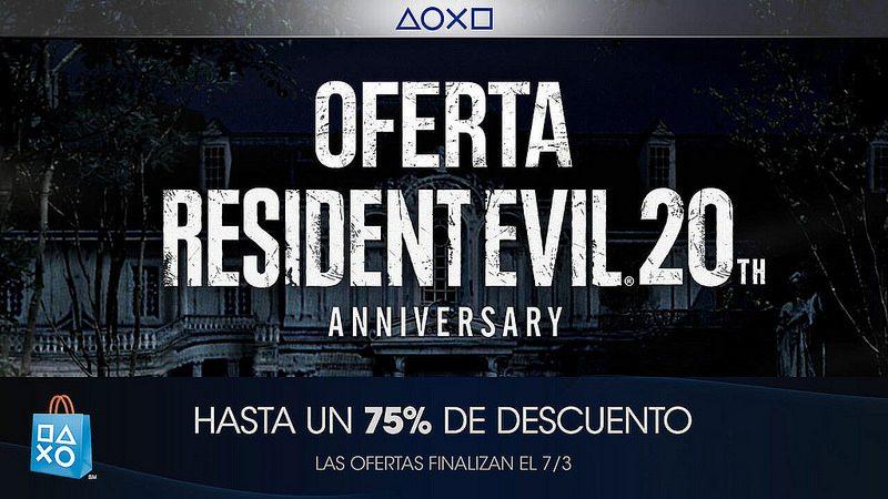 Oferta Resident Evil 20th Anniversary para México