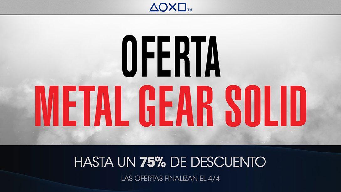 Oferta Metal Gear Solid para México
