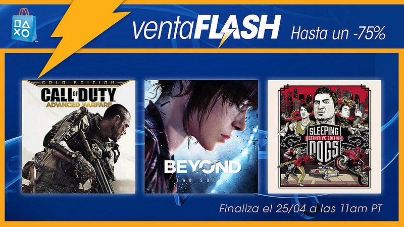 Venta Flash: Ofertas de juegos y películas de acción para México