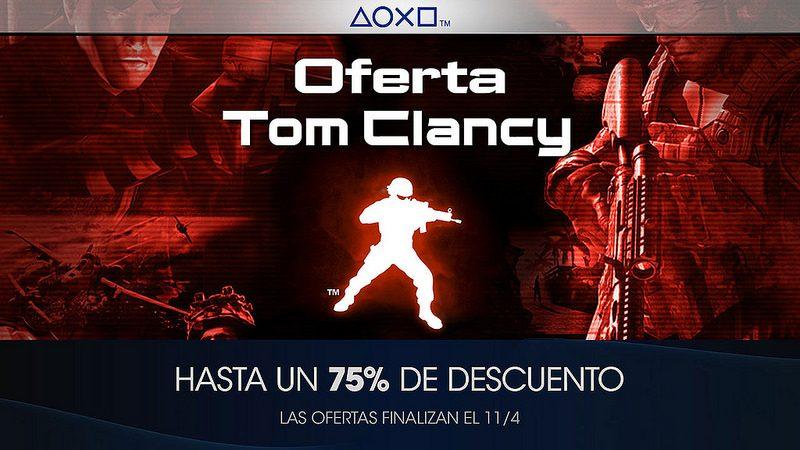Oferta Tom Clancy para LATAM