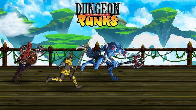 Dungeon Punks comienza una pelea en PS4 este año