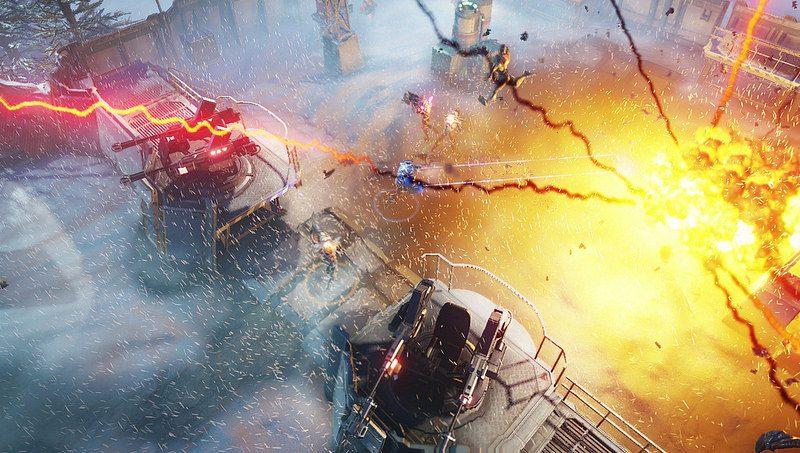 Defiende la Tierra en Alienation, disponible hoy en PS4