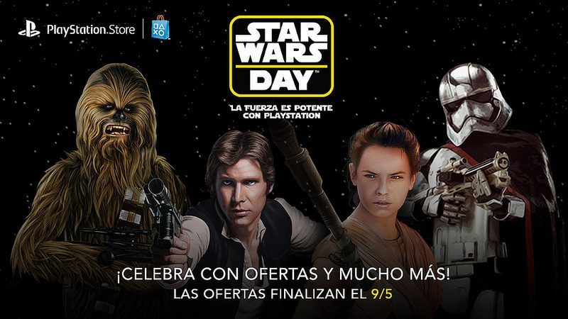 Oferta de May the Fourth: Descuentos de hasta 75% en títulos de Star Wars + Tema gratis para LATAM