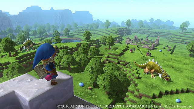 Dragon Quest Builders confirmado en PS4 y PS Vita