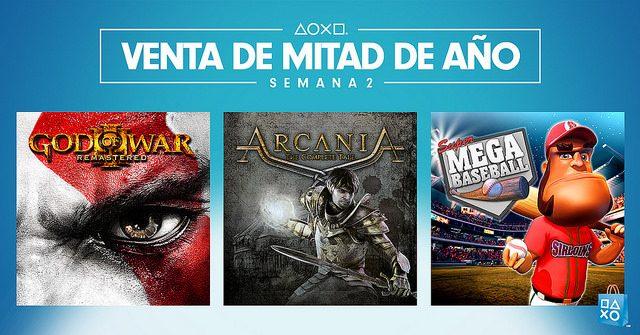 Venta de Mitad de Año, Semana 2: God of War III Remastered y más con descuento de hasta 80 %