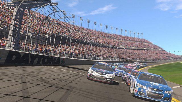 NASCAR Heat Evolution incluye carreras de 40 jugadores