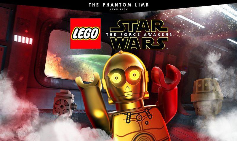 DLC de LEGO Star Wars: The Force Awakens Phantom Limb disponible desde hoy