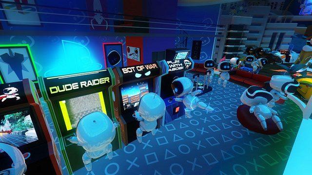 25 adorables hechos de The Playroom VR