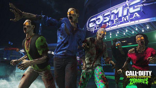 Primeras impresiones: Zombies en Spaceland, el campo de batalla Neon de COD Infinite Warfare