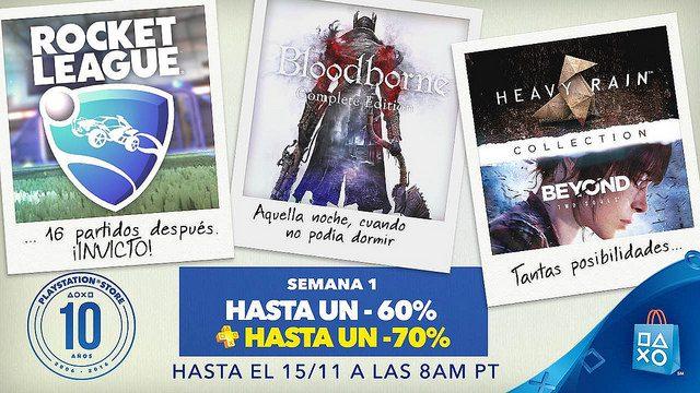 PlayStation Store: Celebrando una década de descargas