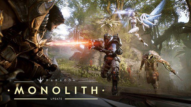 Actualización Monolith de Paragon: Un juego nuevo