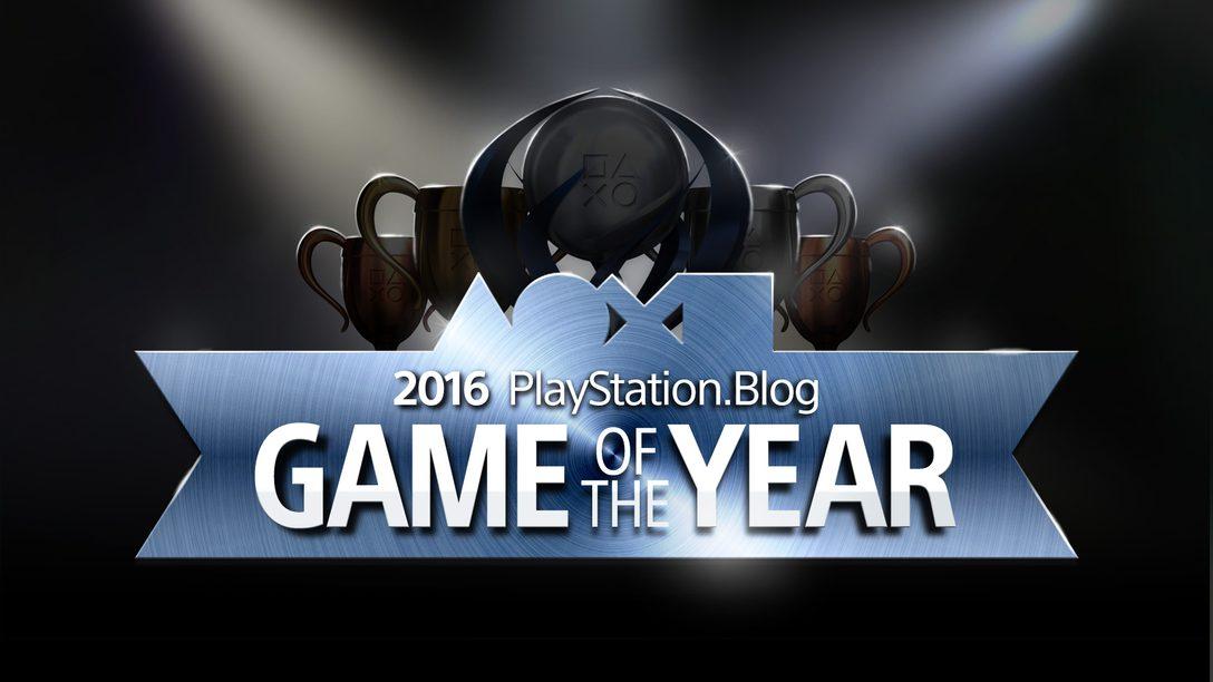 Voten Ahora: Game of the Year 2016 Awards del blog de PlayStation