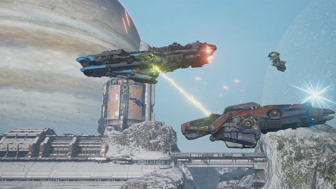 ¡Comanden su propia nave en Dreadnought, próximamente en PS4!