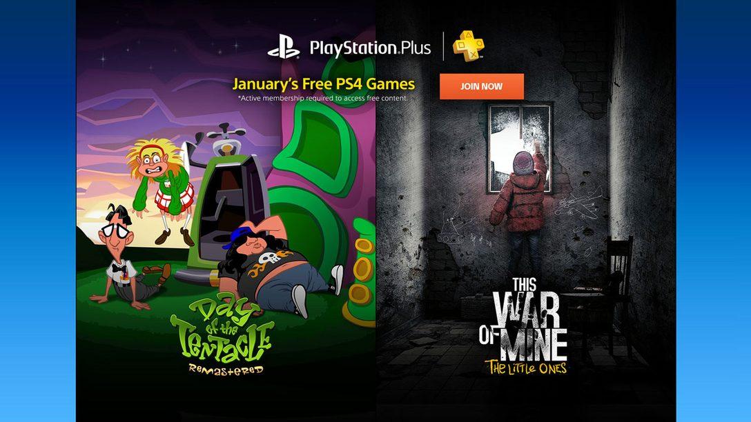 PS Plus: Juegos gratis para enero de 2017