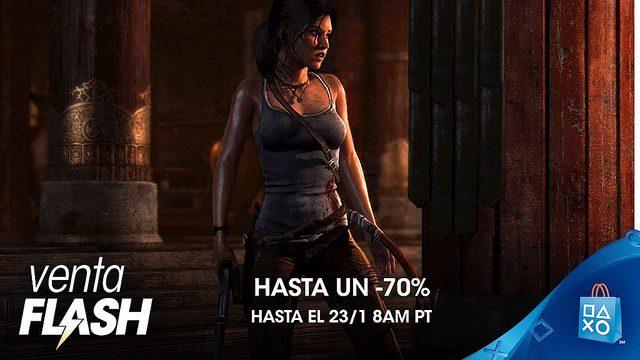 Venta Flash de enero en PS Store con descuentos de hasta el 70 %