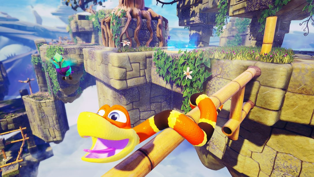 Snake Pass se desliza a PS4 el 28 de marzo