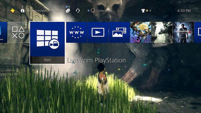 Actualización del sistema 4.50 de PS4. Detalles de las funciones