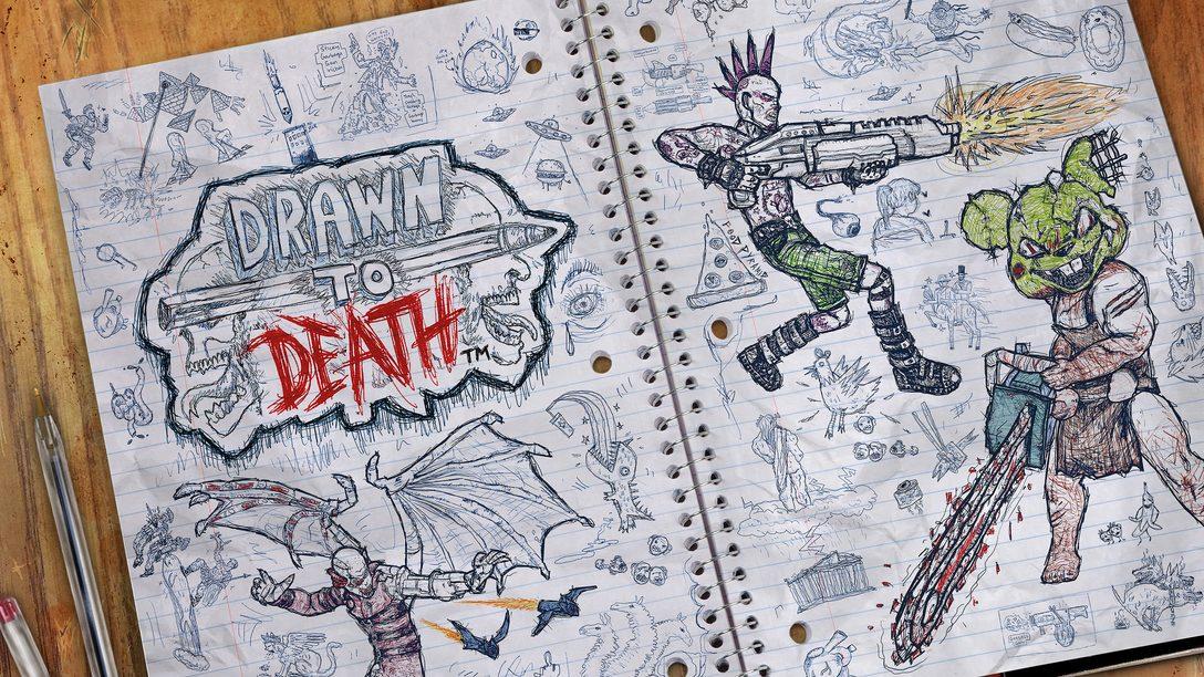 Drawn to Death se lanza el 4 de abril, David Jaffe habla de garabatos en la escuela y diseño