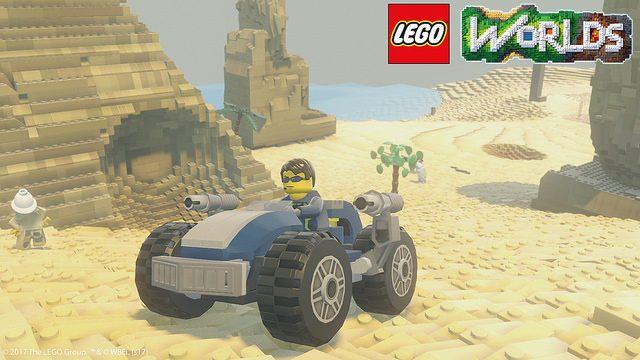 Lego Worlds se armará en PS4 este marzo