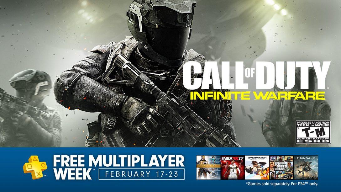 La Semana del Multiplayer gratis en PS4 empieza el 17 de febrero