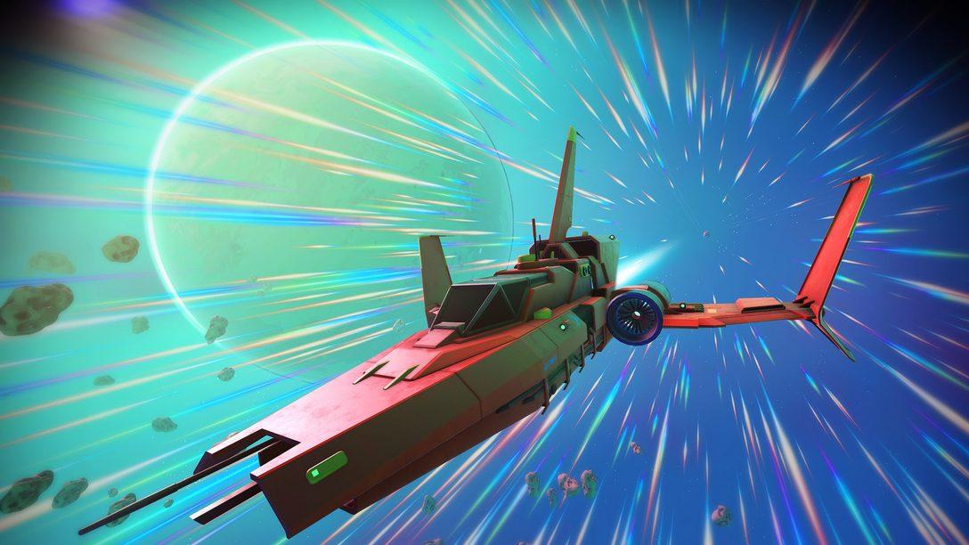 La actualización Path Finder para No Man's Sky trae nuevos vehículos y más.