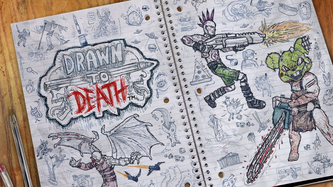 En abril Drawn To Death será gratis para los miembros de PS Plus