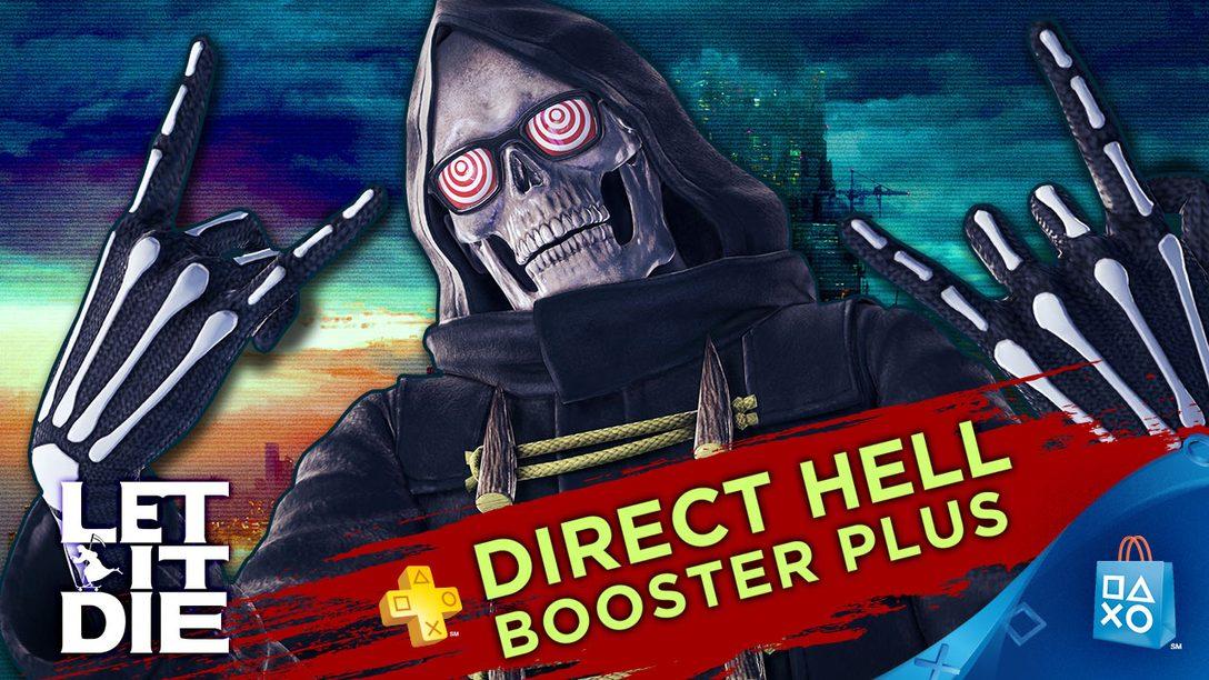 ACTUALIZADO: Let It Die Booster Pack exclusivo para PS Plus, más bono de 3 meses