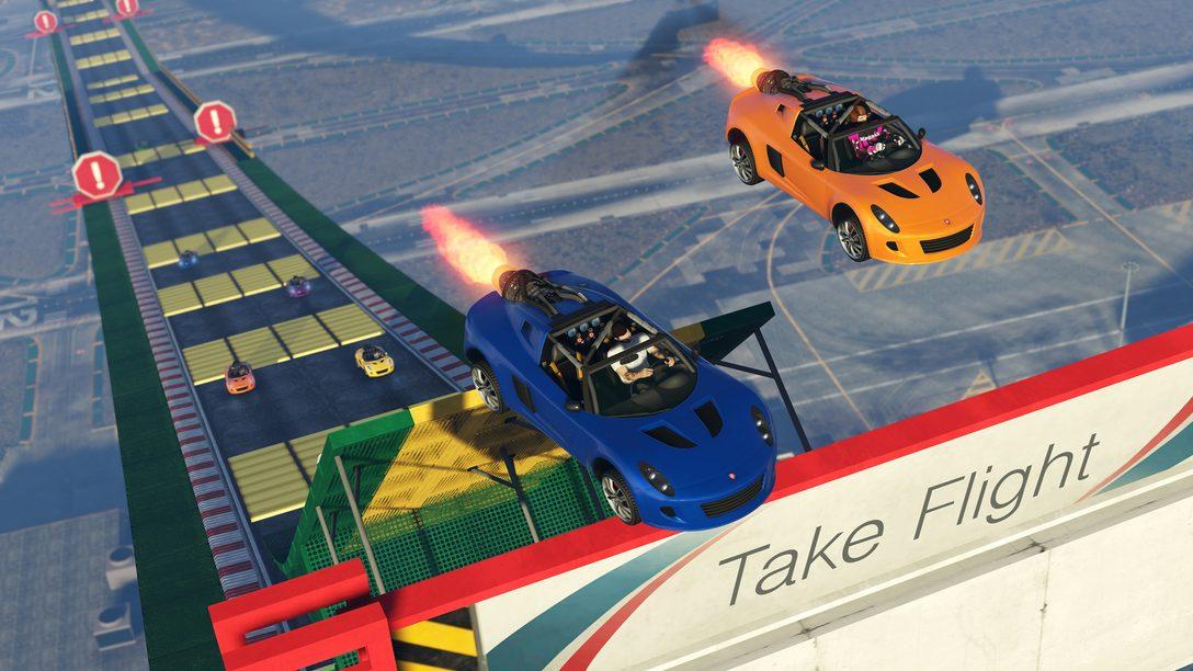 Presentando el Hijak Ruston y nuevos Stunt Race Props de GTA Online