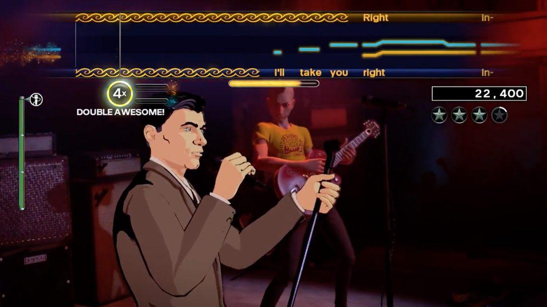 ¡Danger Zone! Sterling Archer se toma el escenario en Rock Band 4