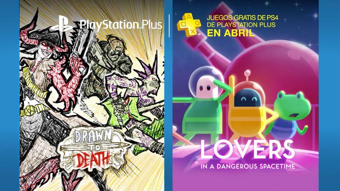 PS Plus: Juegos gratis para abril de 2017
