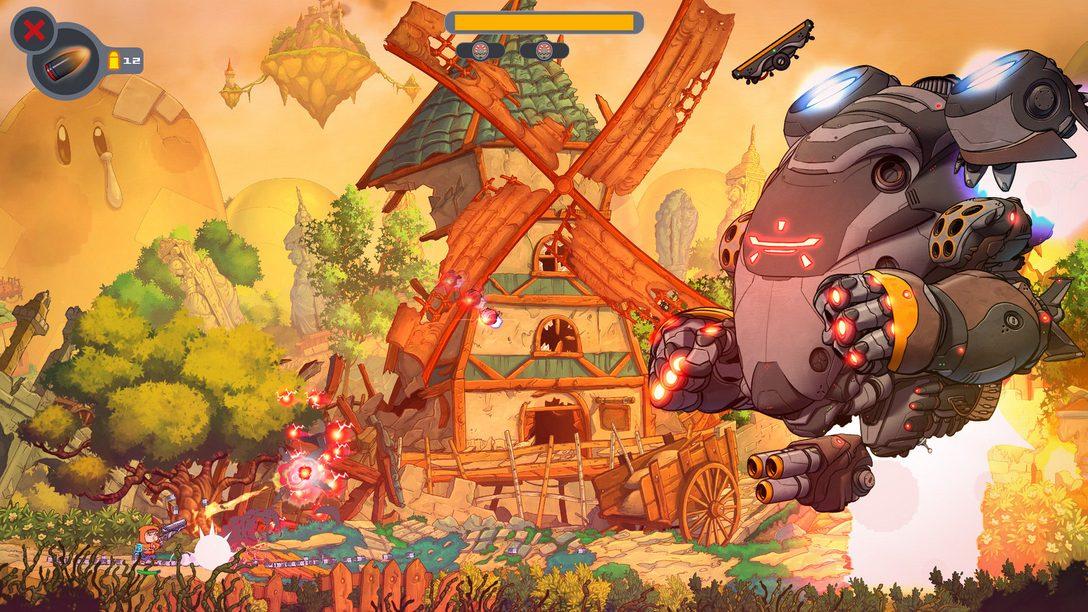 Protejan el Planeta de los Personajes de Videojuegos Clásicos en Rise & Shine