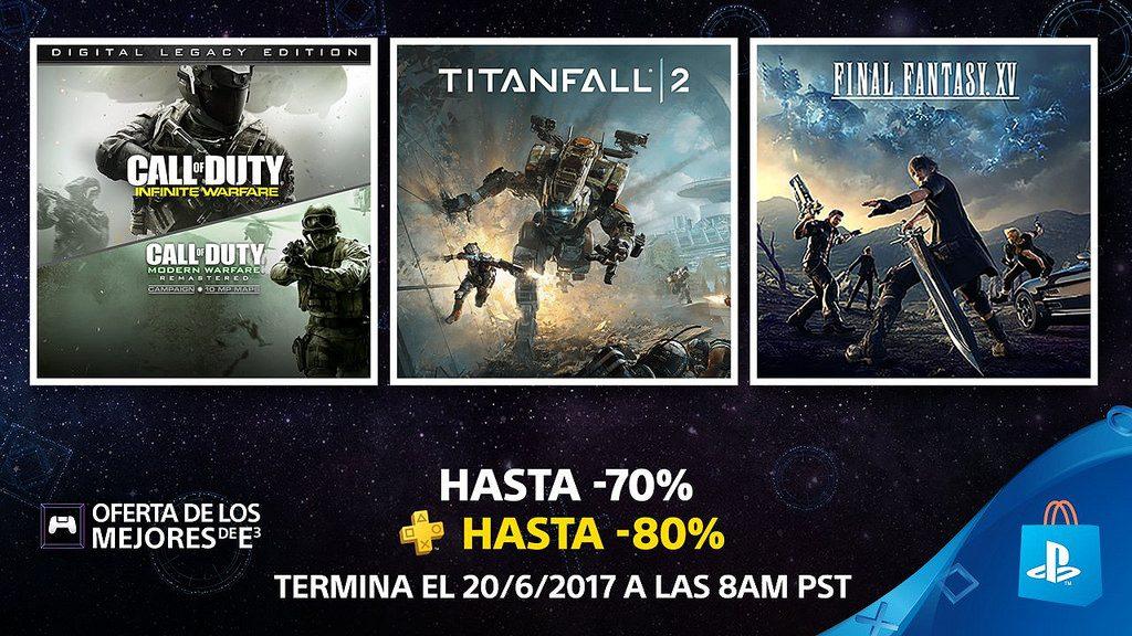 Oferta de los Mejores de E3 de PS Store