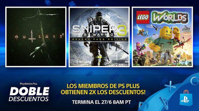 Venta PlayStation Plus Doble Descuentos de PS Store
