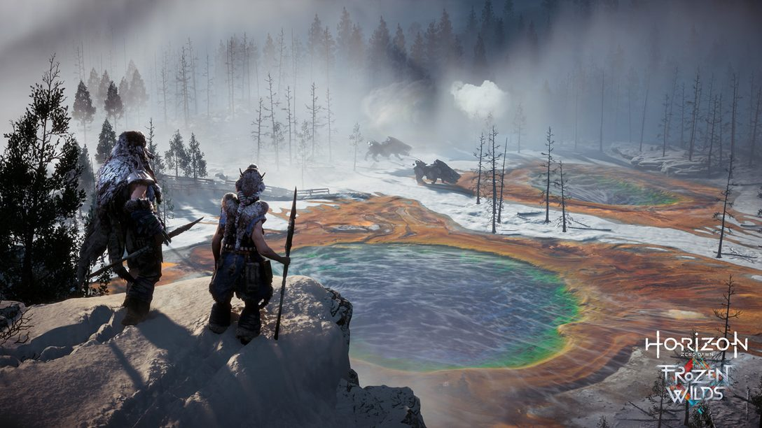 Anunciamos Horizon Zero Dawn – The Frozen Wilds