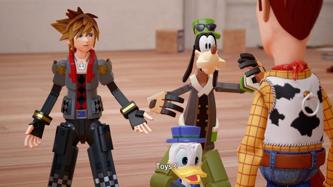 Toy Story llega a Kingdom Hearts III