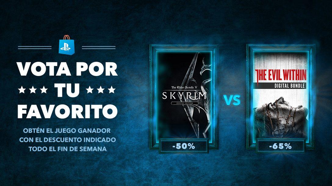 Vota por tu Favorito: The Elder Scrolls V: Skyrim vs. The Evil Within
