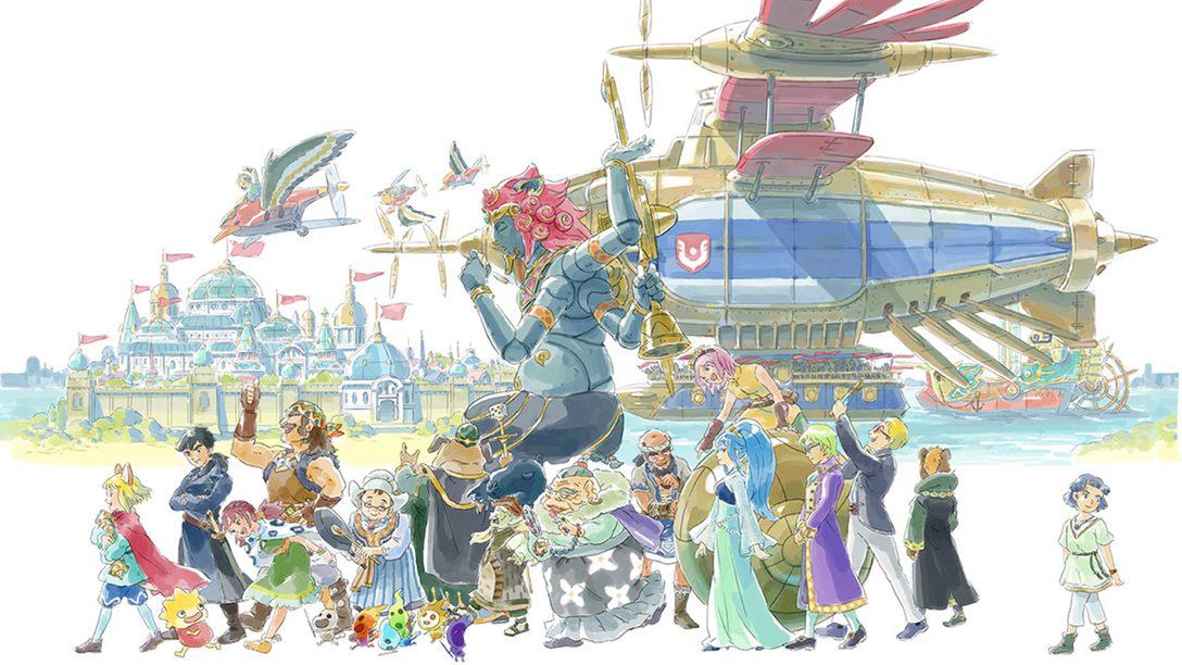 Conociendo el Nuevo Elenco de Ni no Kuni II: Revenant Kingdom
