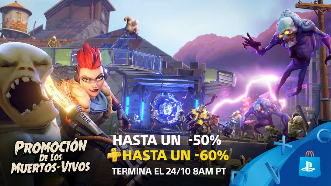 La Promoción de los Muertos-Vivos ya llegó ¡Conjuros con hasta 50% de Descuento (60% para PS Plus)!