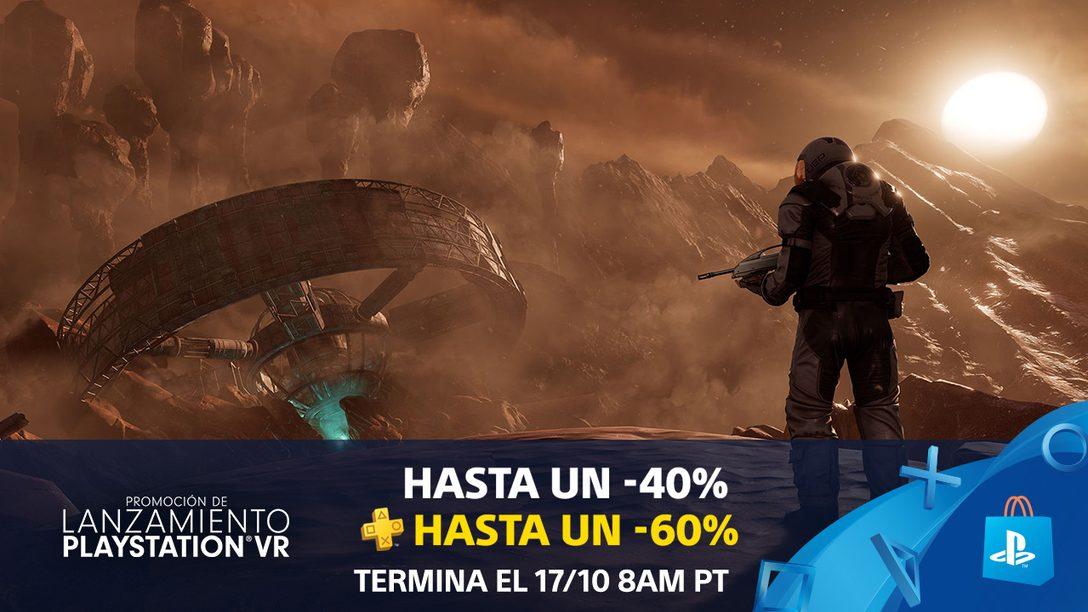 ¡La Promoción de Lanzamiento de PlayStation VR da la Bienvenida a México!