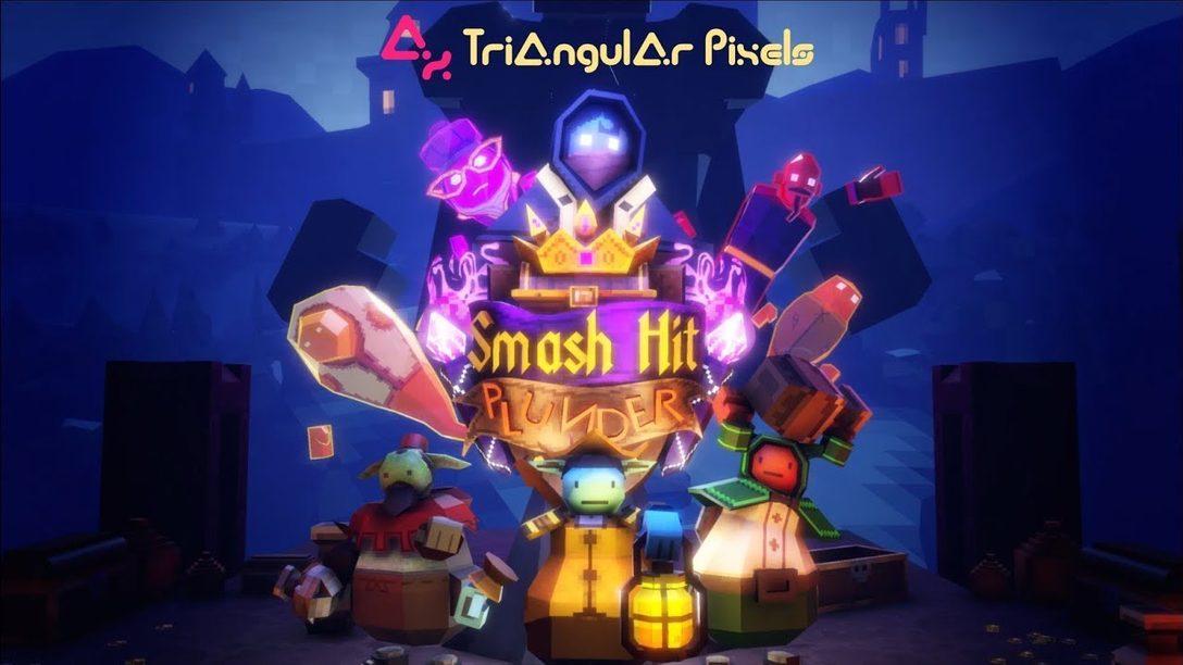 Smash Hit Plunder Para PS VR: Incursionen en un Castillo por Dinero o Contra sus Amigos