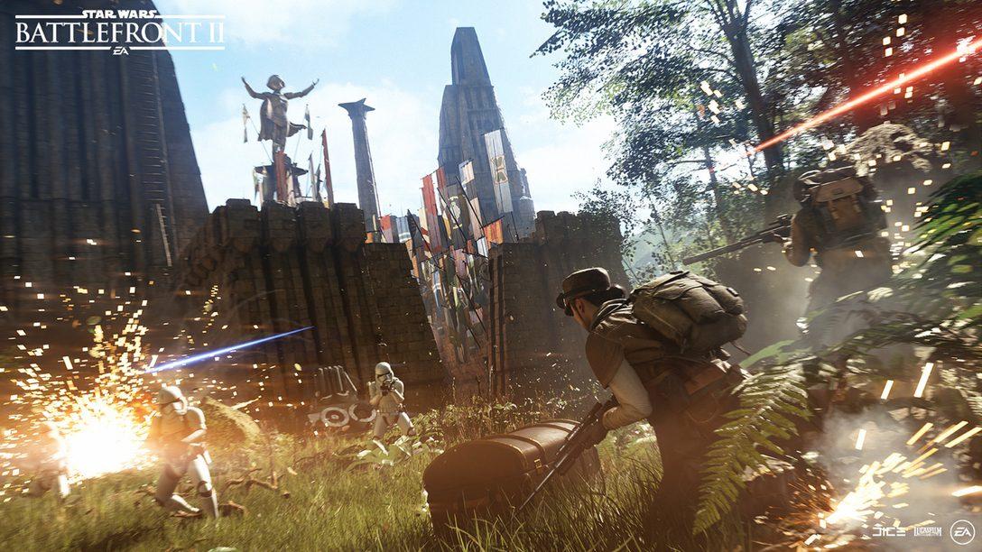 La Beta de Star Wars Battlefront II Empieza Hoy para los que Reservaron el Juego