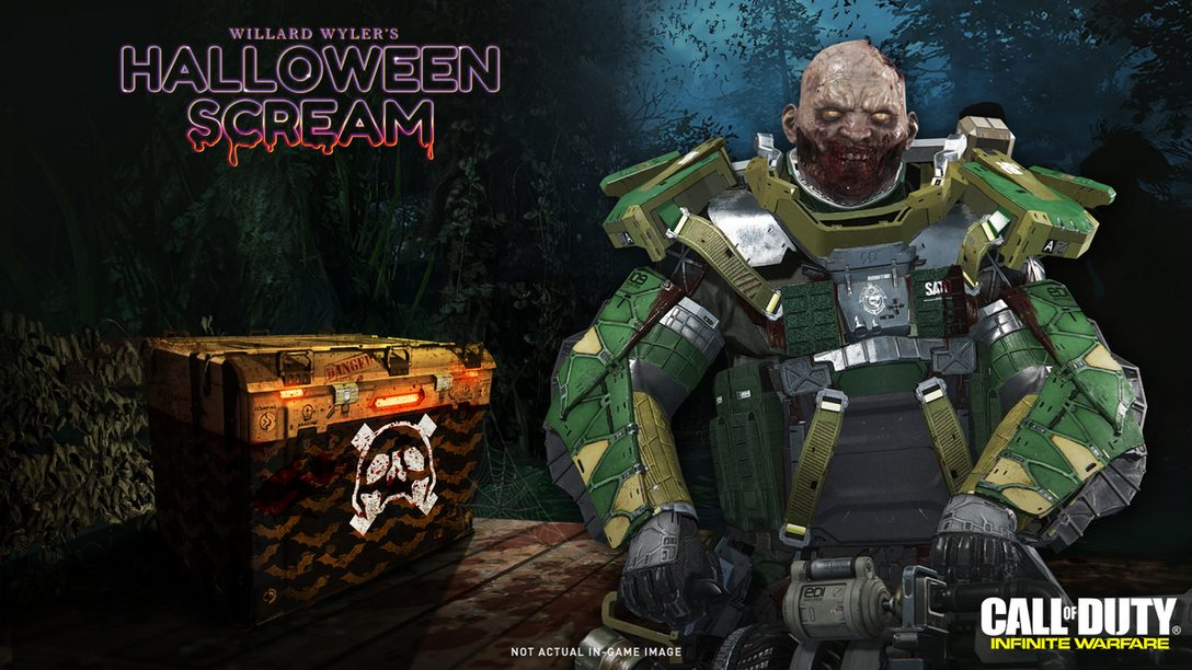 Halloween Scream de Call of Duty: Infinite Warfare Empieza Hoy
