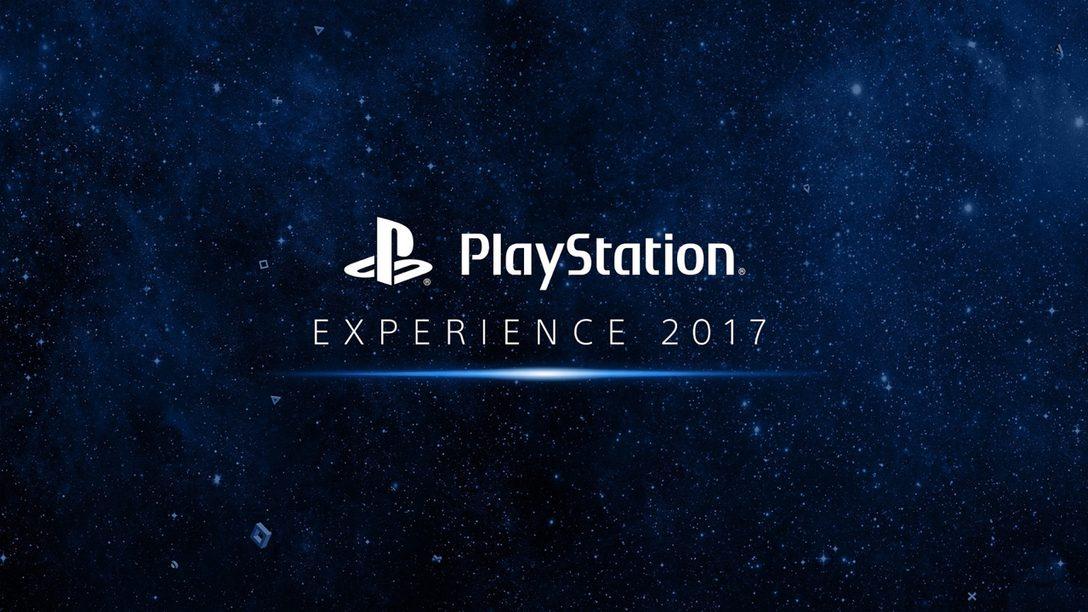 PlayStation Experience 2017: Todo lo que necesitan saber
