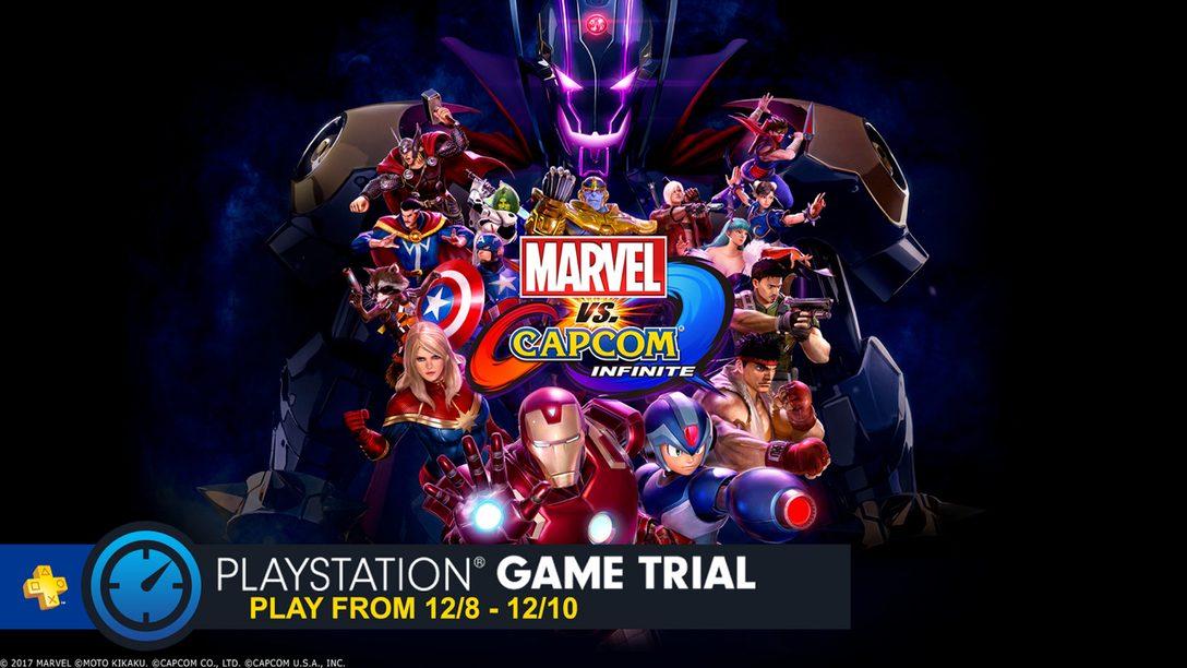 Marvel vs. Capcom Infinite: Demo del Modo Versus Gratis Este Fin de Semana para PS Plus
