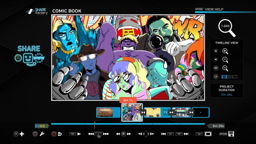 Actualización 3.00 de Sharefactory: Nuevos temas, Efectos de Cámara, Animaciones y Más