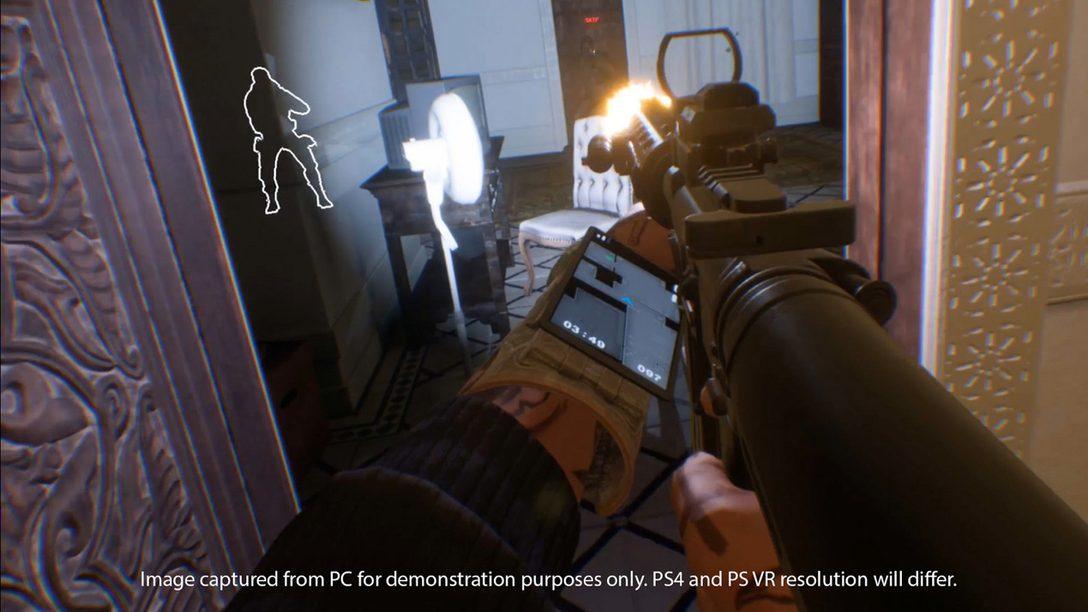 Firewall Zero Hour de PS VR, Impresionó en PlayStation Experience
