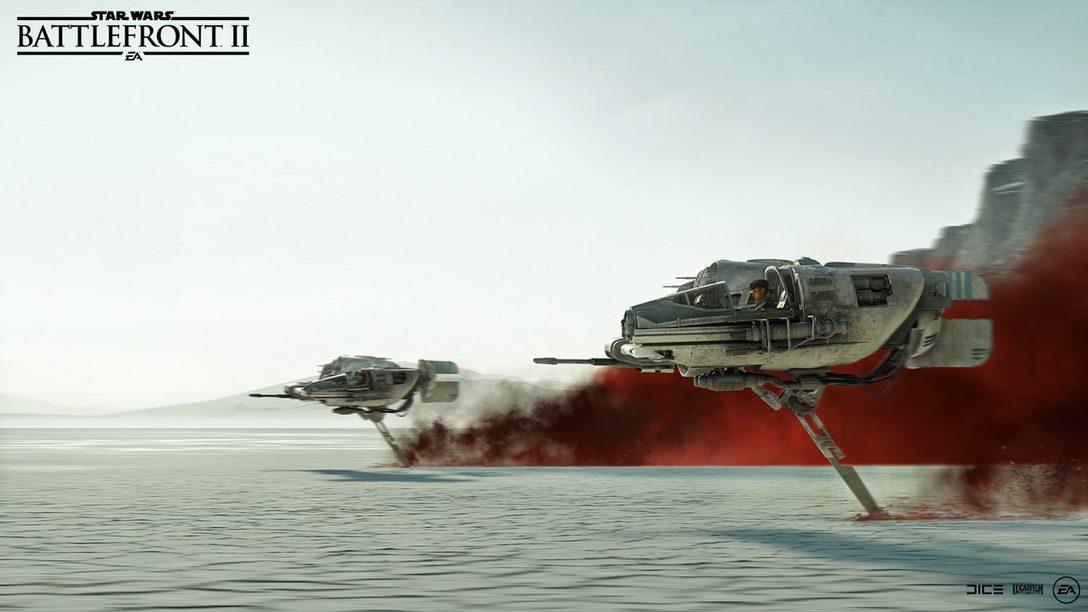 Trayendo Star Wars: The Last Jedi a Star Wars Battlefront II